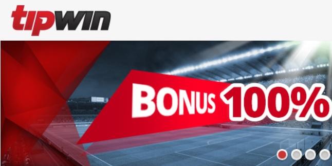 Tipwin oddsbonus 100% upp till 100 euro i Sverige