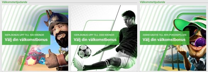 Unibet oddsbonus 2020 - Sveriges bästa bonus